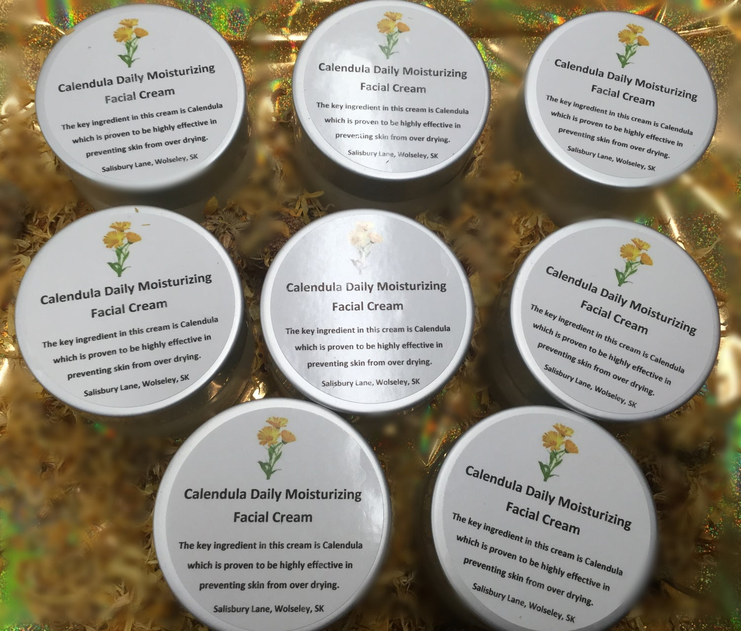 Image of Calendula Infused Facial Cream