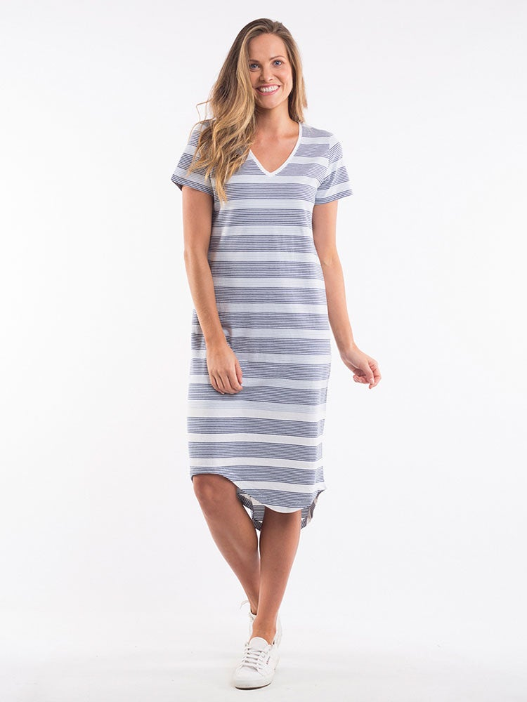 Image of ELM Waterline Midi Dress