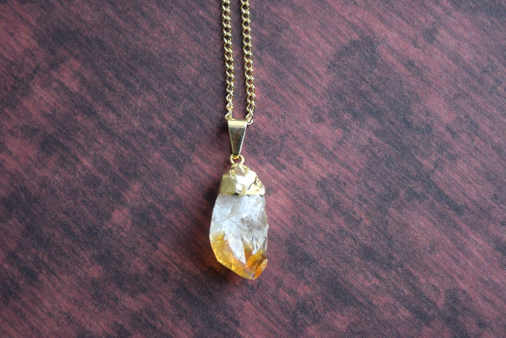 Image of The Citrine necklace