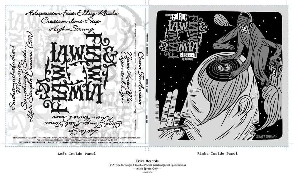 Image of GEL ROC - LAWS & FLAWS (2xl vinyl LP)