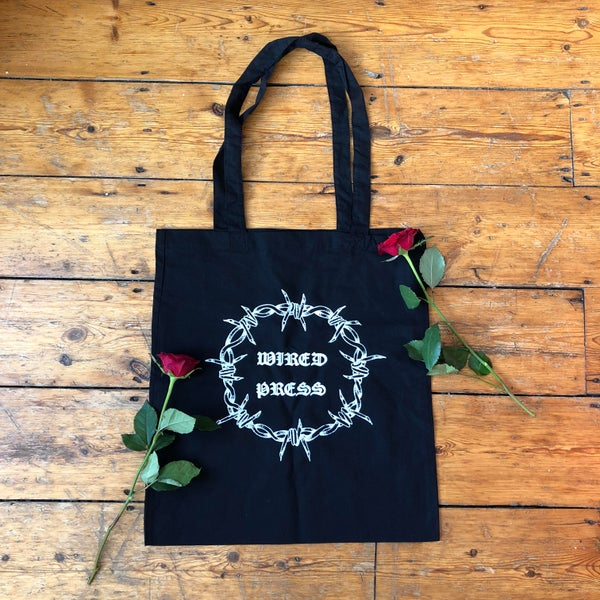 Image of Wired Press Tote Bag