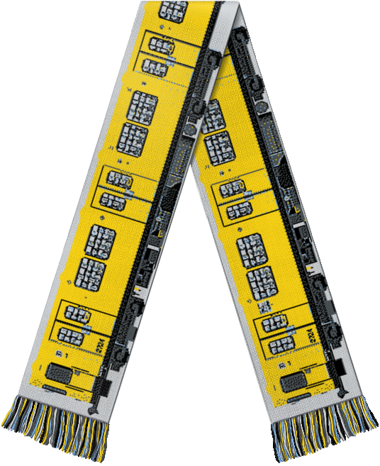 Image of Limited Berlin Metro Scarf