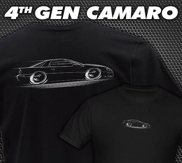 Image of 4th Gen Camaro T-Shirts Hoodies Banners