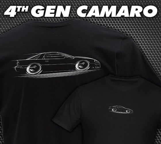 Image of 4th Gen Camaro T-Shirts Hoodies Banners