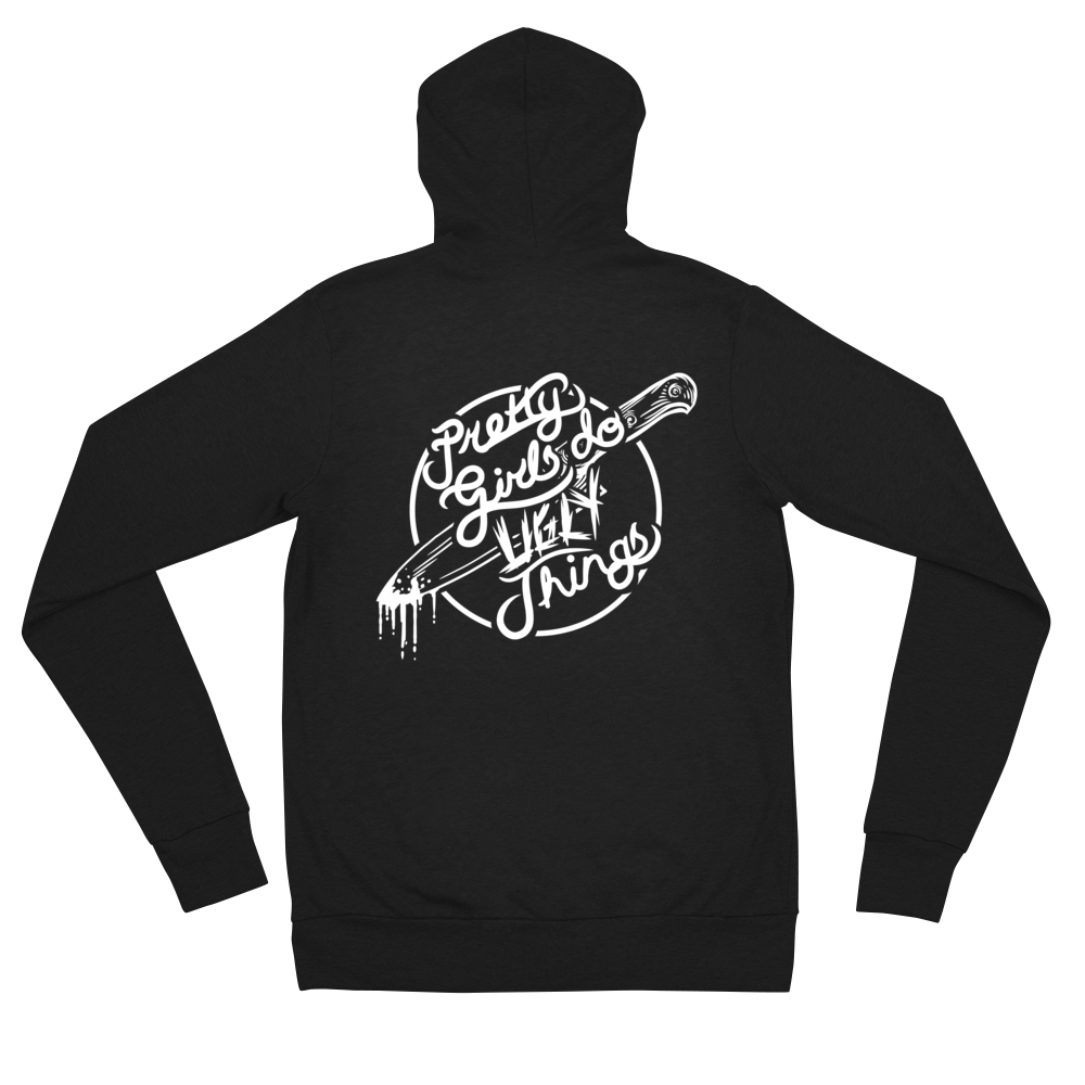 Image of Pretty Girls Do Ugly Things modern Unisex Hoodie