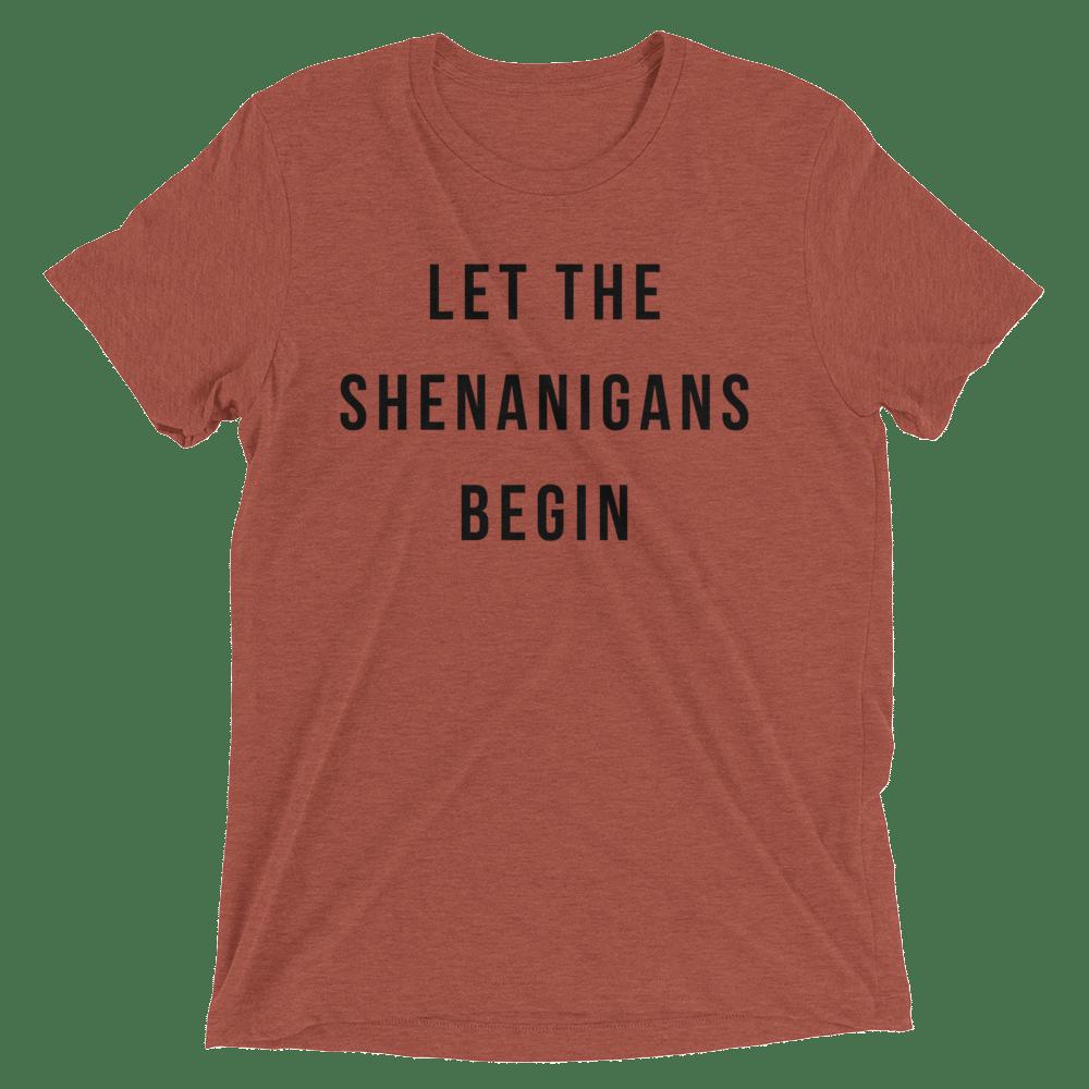 Image of LET THE SHENANIGANS BEGIN