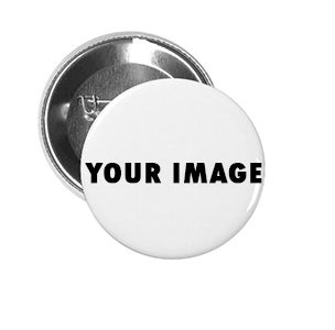 "Custom 1.25"" Round pin back buttons"