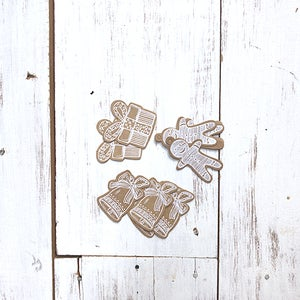 Image of Christmas Mini Kraft Tags