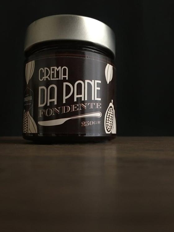 Image of Crema da pane al cioccolato fondente