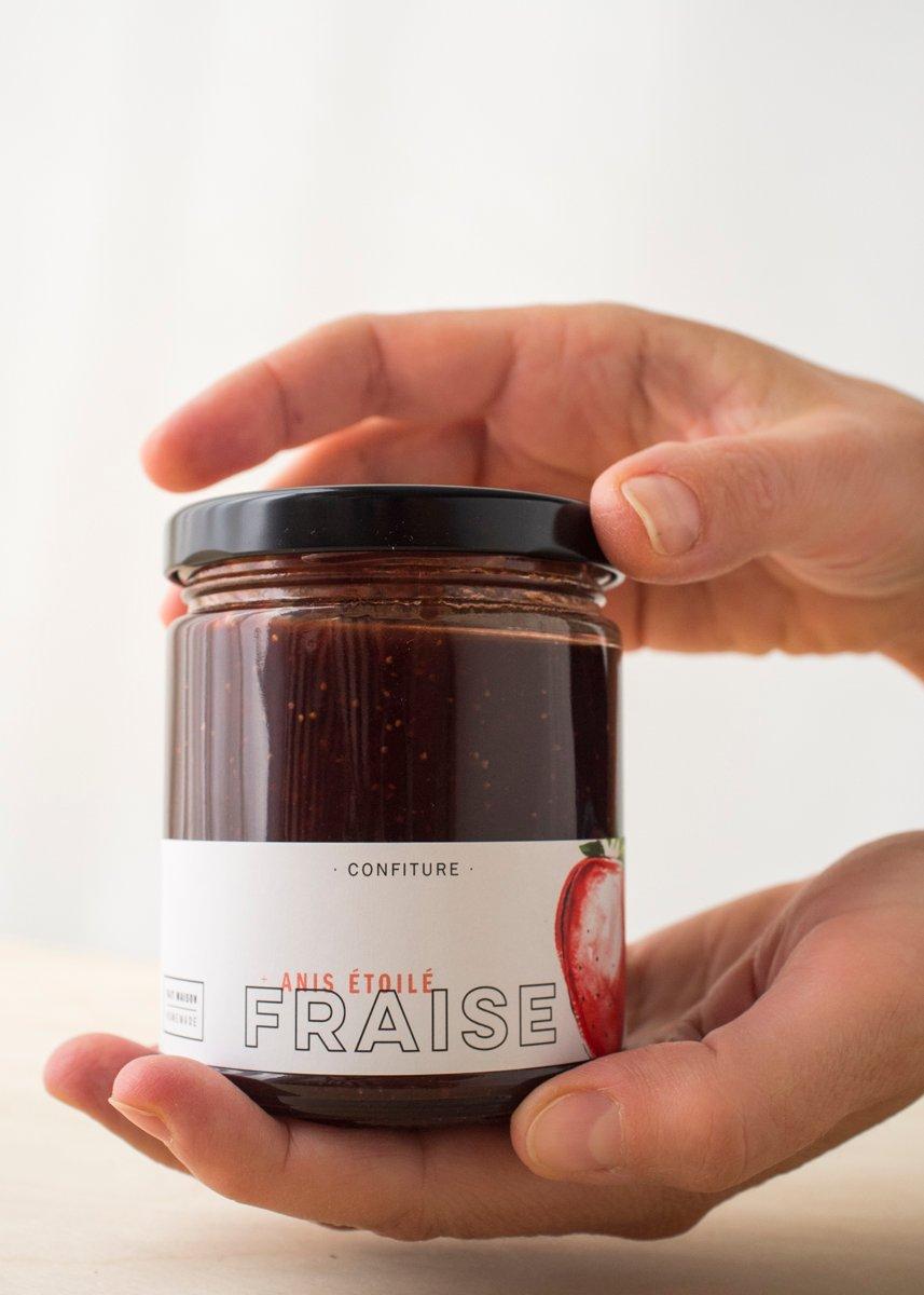 Image of FRAISE + anis étoilé