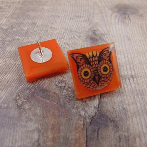 Image of Johanna Parker Owl Pin