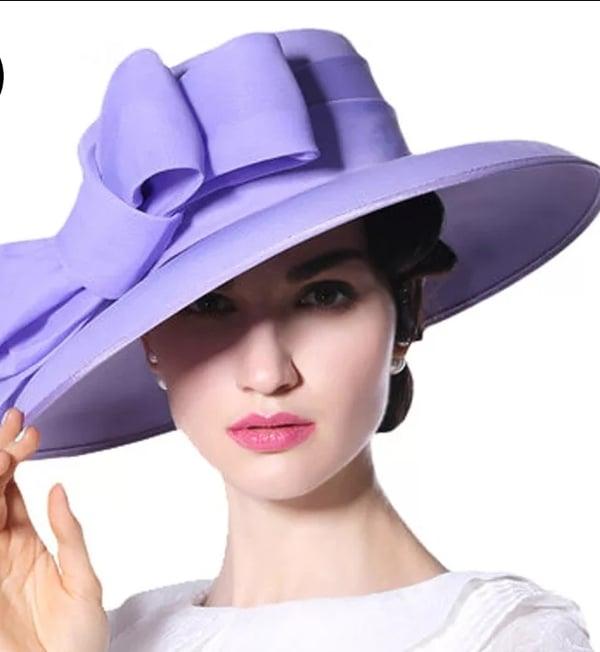 Image of Lady lavender hat