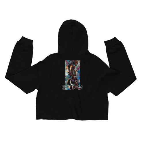 "Image of ABJ ""My Own Devices"" cropped hoodie"