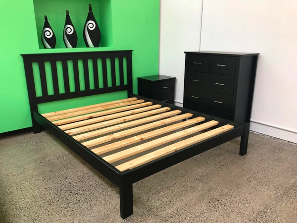 Image of Black Bedframe