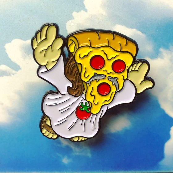Image of Super Cheesus Pin (from the super series)
