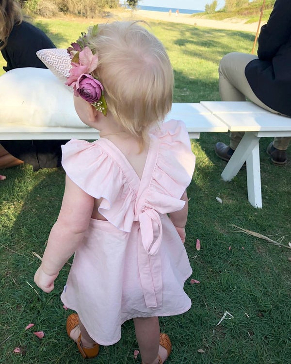 Image of Butterfly party dress