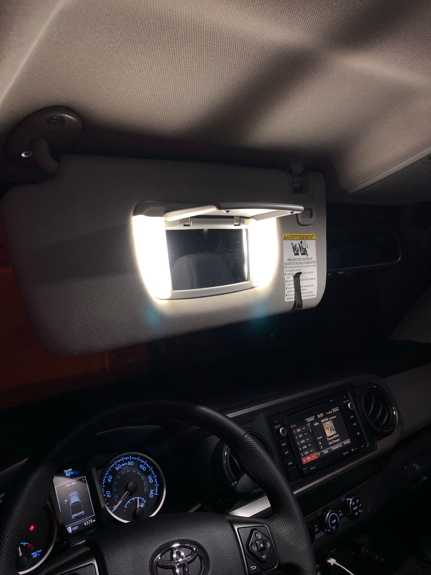 Image of Complete Interior LED Kit for: Toyota Tacoma  3rd Gen. [2016+]