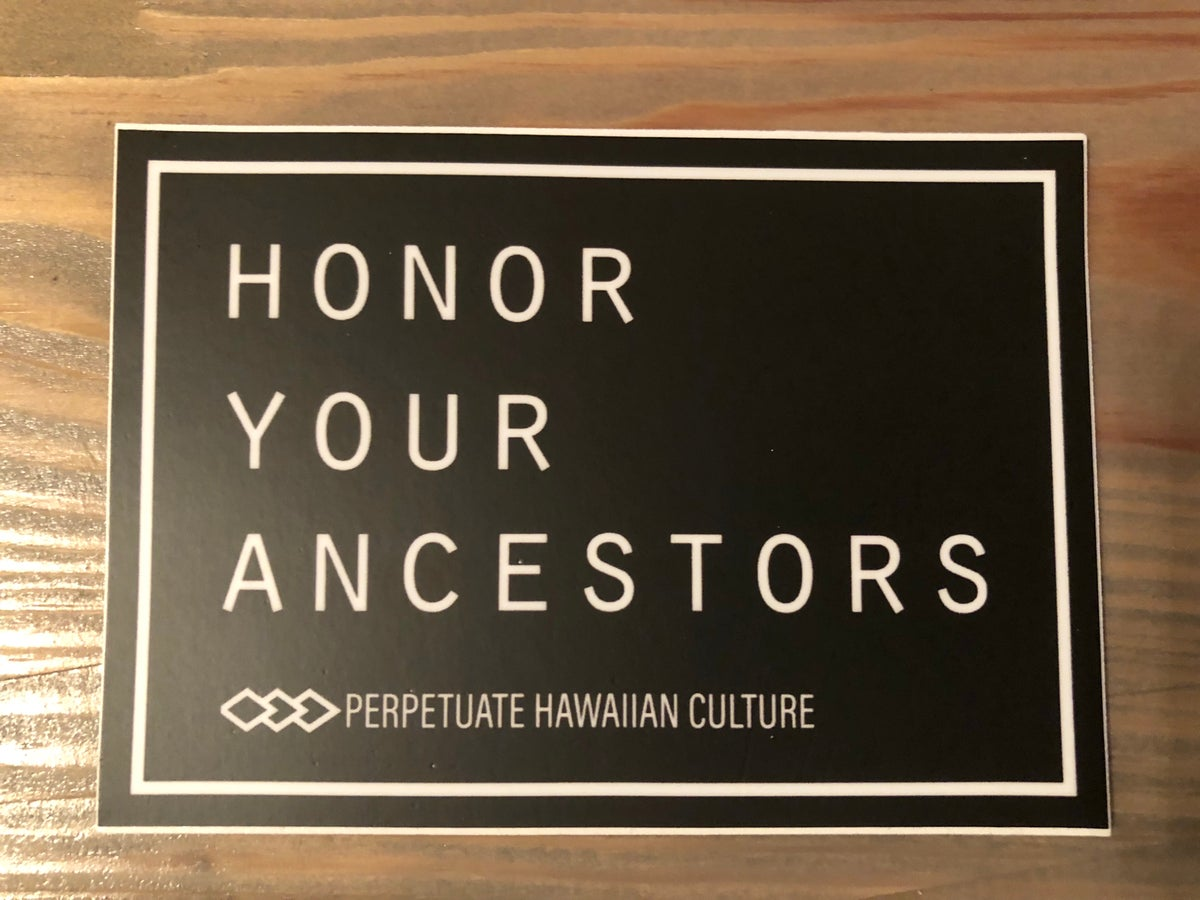 Image of Honor Your Ancestors (B&W) Sticker