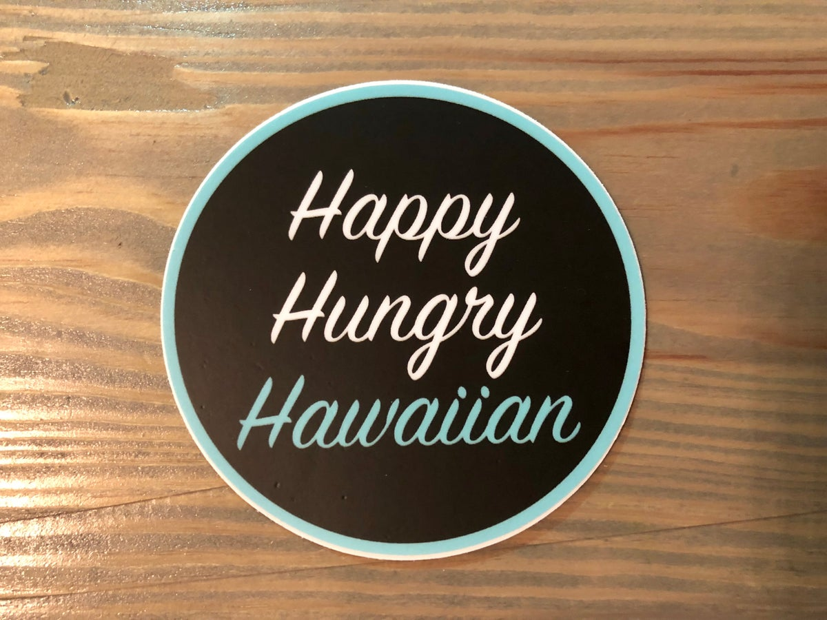 Image of Happy Hungry Hawaiian Sticker