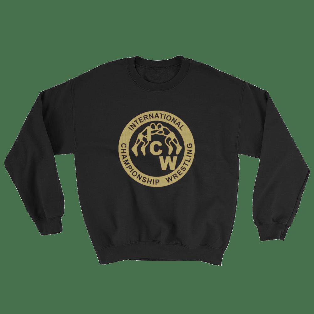 Image of ICW Gold w/Macho Back Logo Heavyweight Sweatshirt