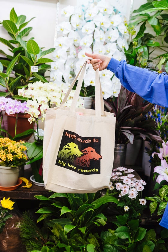 Image of LQQK Studio x BIG LOVE Records Tote Bag