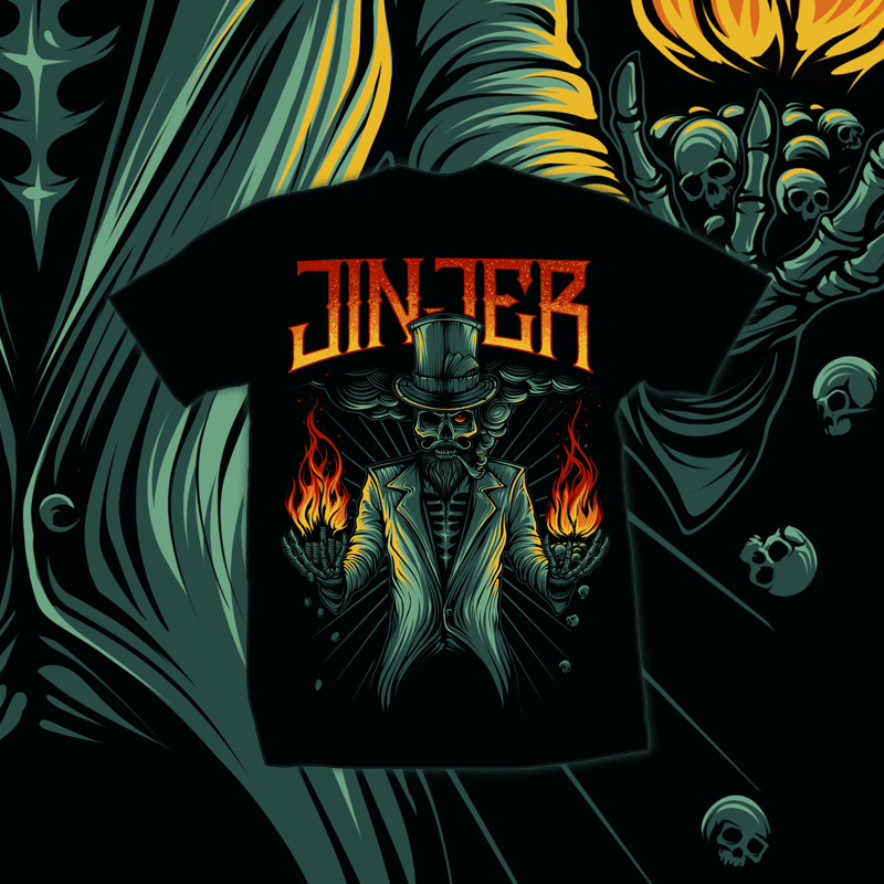 Image of JINJER - Plus or Minus - T-SHIRT