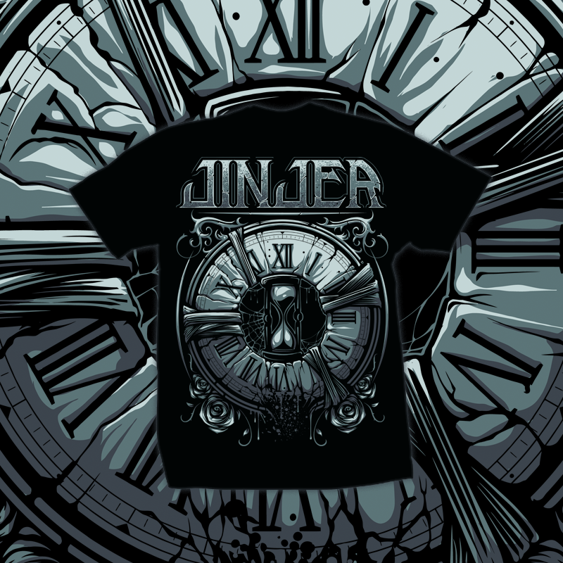 Image of JINJER - Captain Clock - T-SHIRT