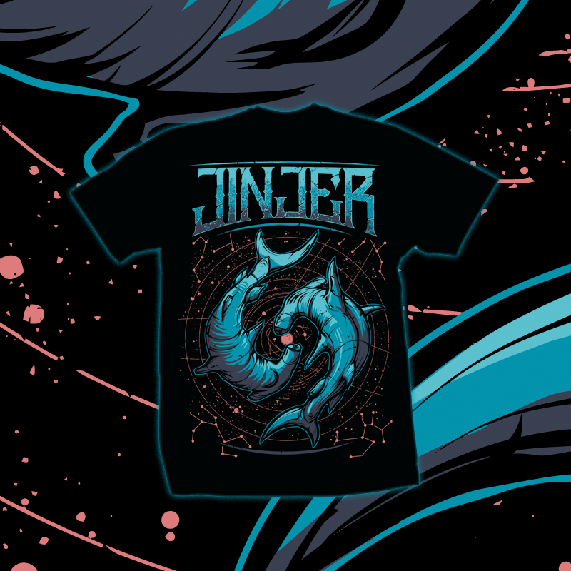 Image of JINJER - Pisces - T-SHIRT