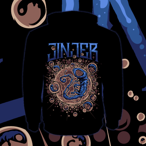 Image of *PRE-ORDER* JINJER - Embryo - Zipper Hoody