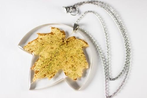 Image of Autumn Maple Leaf (Acer rubrum) - Extra Large #1