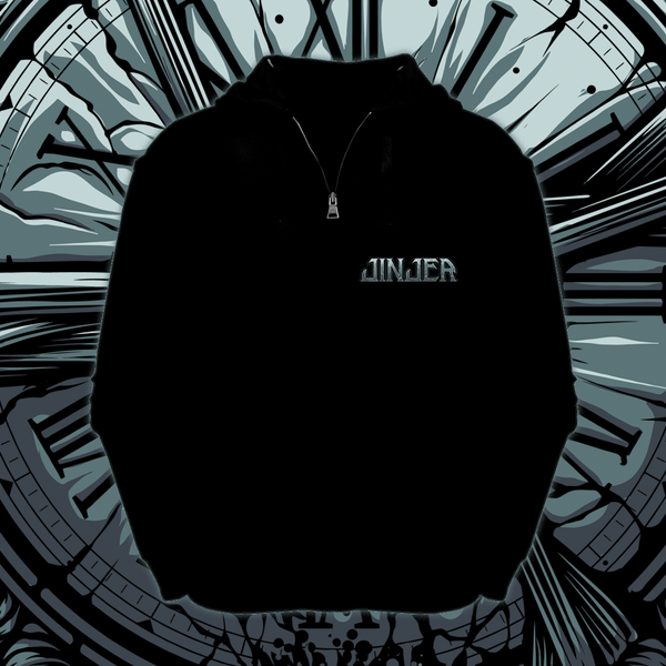 Image of JINJER - Captain Clock - Zipper Hoody