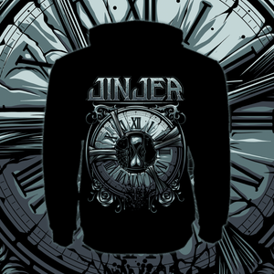 Image of *PRE-ORDER* JINJER - Captain Clock - Zipper Hoody