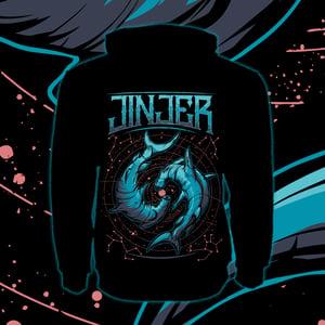 Image of *PRE-ORDER* JINJER - Pisces - Zipper Hoody