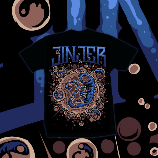 Image of JINJER - Embryo - T-SHIRT