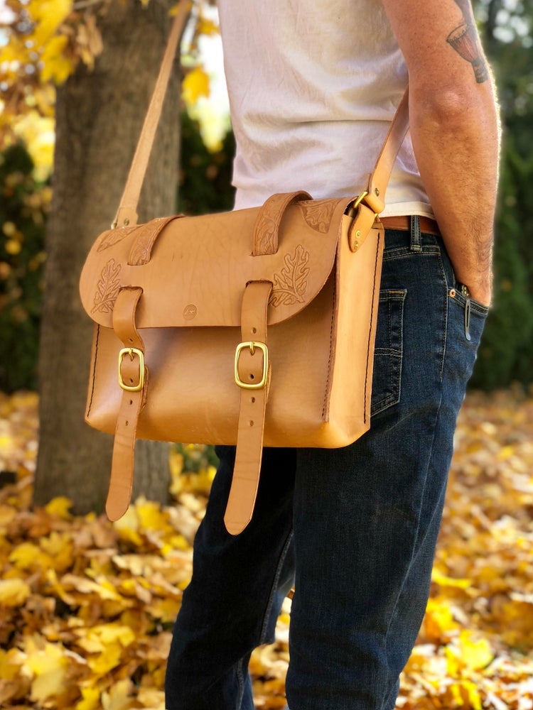 "Image of ""Autumn"" Satchel - Custom Leather Satchel Bag"