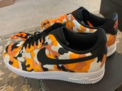 Image of Nike Air Force 1 '07 LV8 - Team Orange Camo