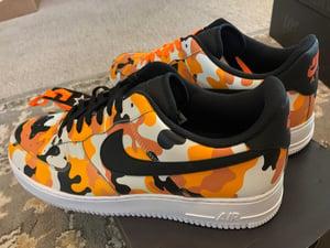 Image of Nike Air Force 1 '07 LV8 - Team Orange Camo