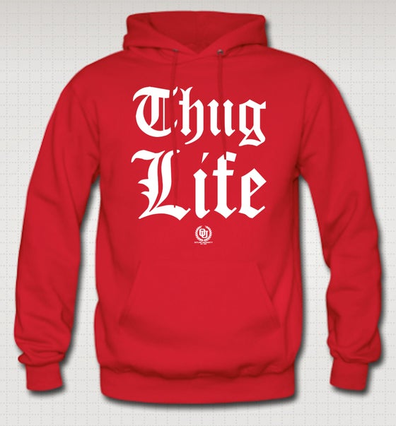 Image of Thuglife OG Hoodie - Comes in Red, Navy Blue, Grey, Black. CLICK HERE TO SEE ALL COLORS