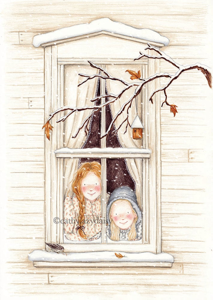 "Image of ""First snow"" large card"