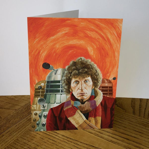 Image of Doctor Who greeting card