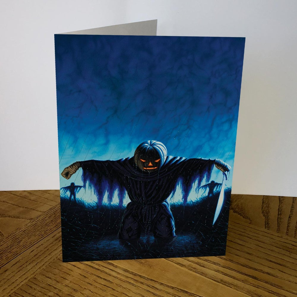 Image of Legend Of The Shadow Warriors greeting card