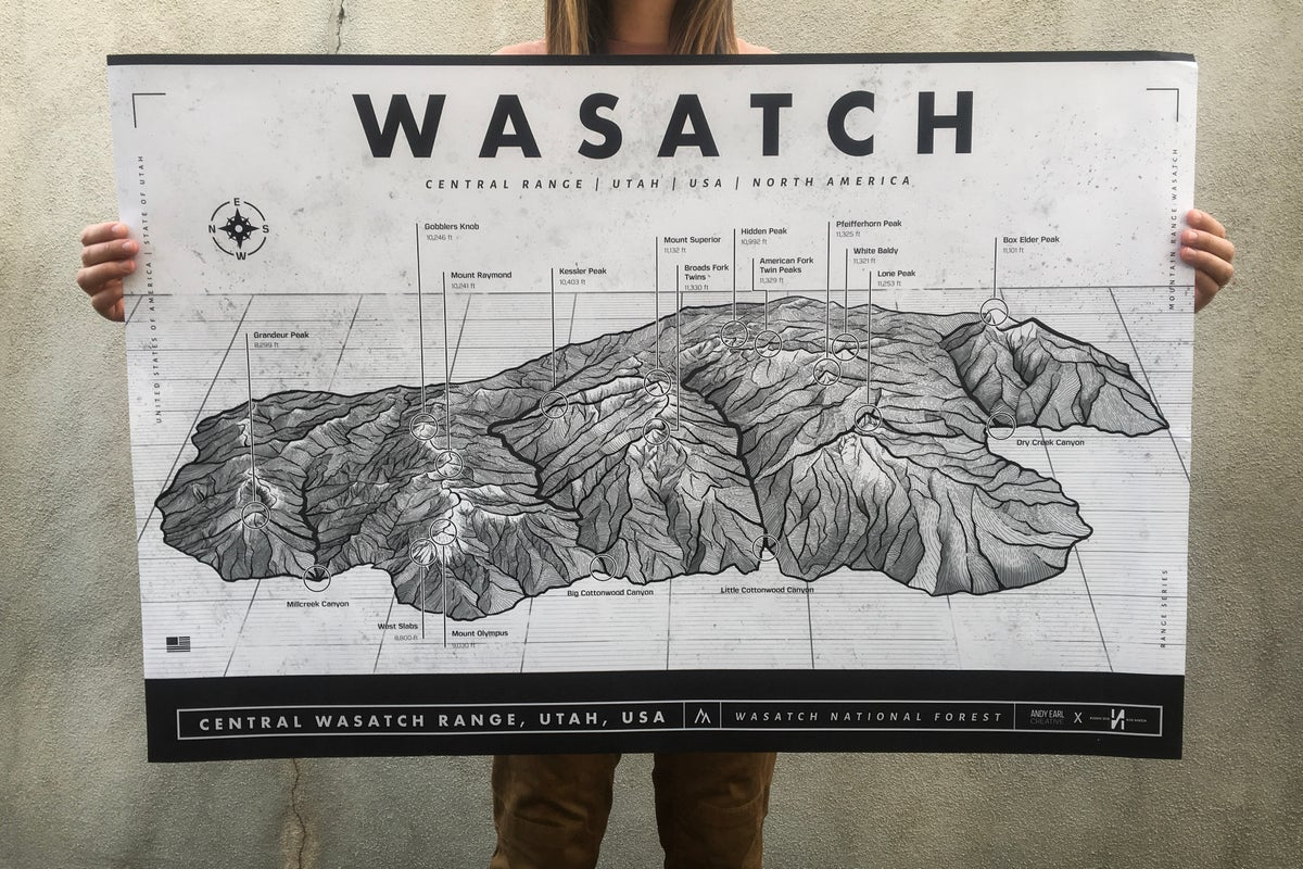 Image of Wasatch Map
