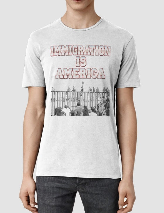 Image of Immigration Is America T-Shirt