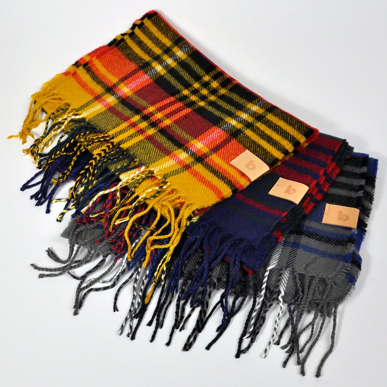 Image of Check Scarf