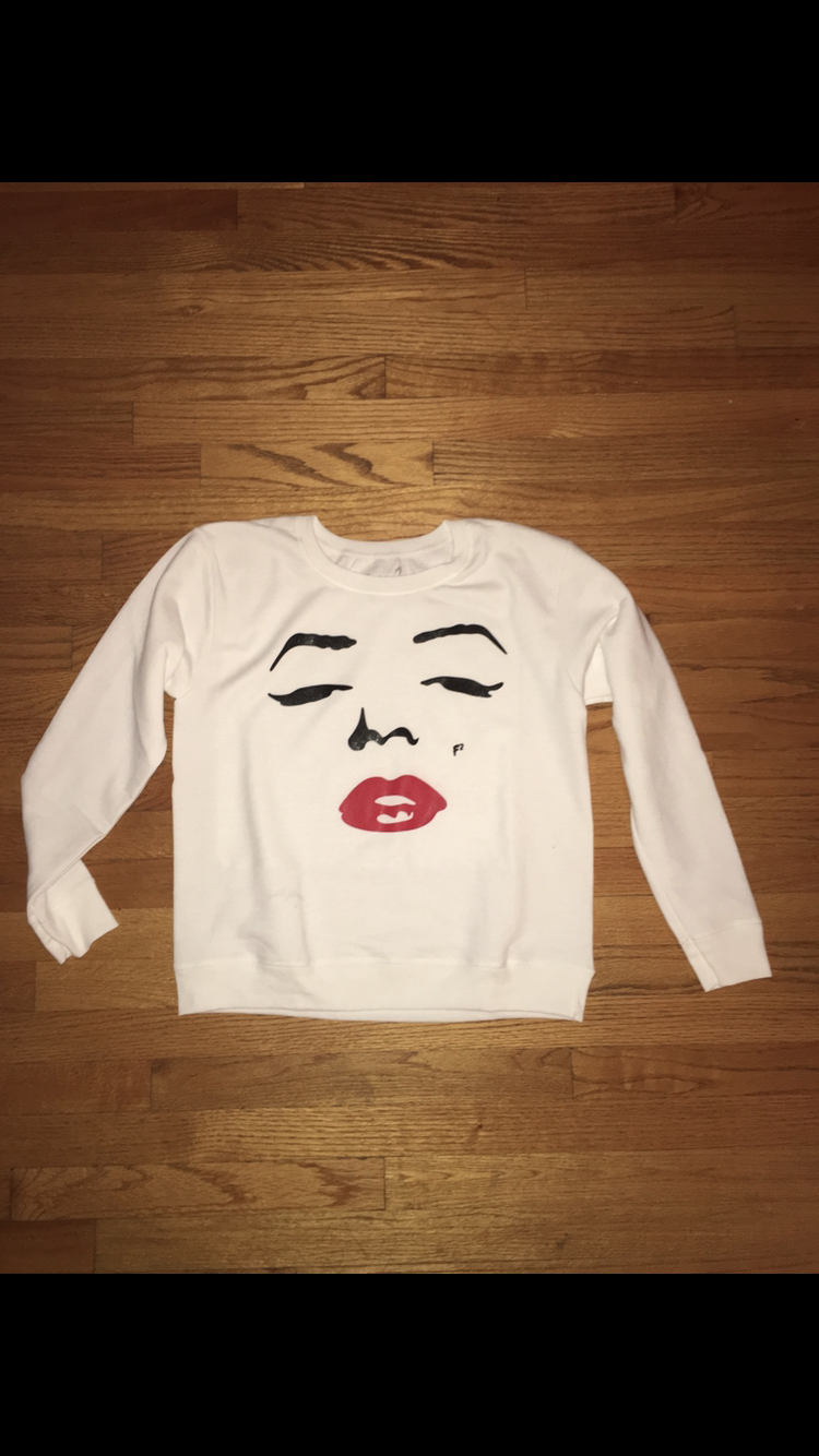 Image of Marilyn Monroe Crew Neck
