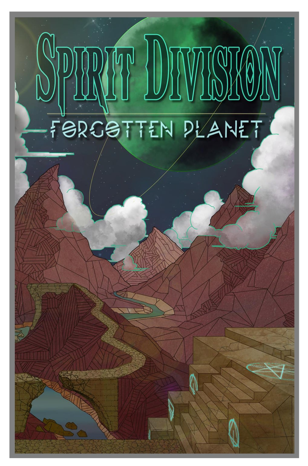 Image of Spirit Division Forgotten Planet Limited Edition Cassette
