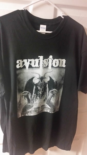 "Image of AVULSION ""Indoctrination Into The Cult of Death"" T-SHIRT"