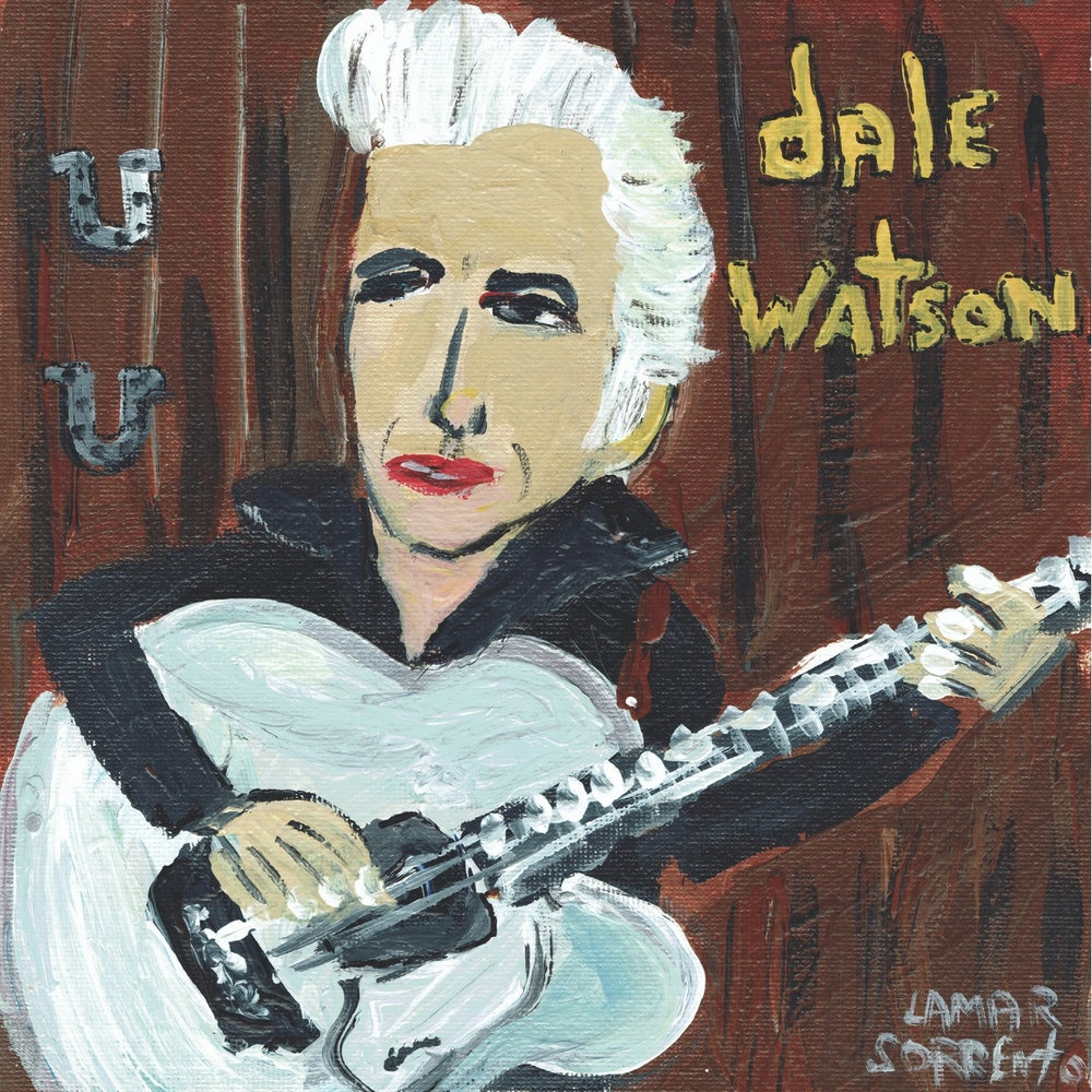 """Image of Dale Watson - Doin' Things I Shouldn't Do b/w Johnny & June (Translucent Yellow 7"""" Single)"""