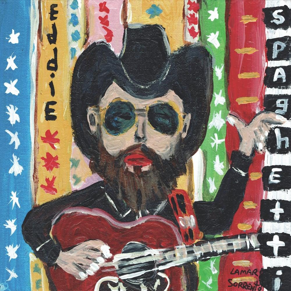 "Image of Eddie Spaghetti - A Cold Wet Wind b/w Goodbye (Translucent Blue 7"" Single)"