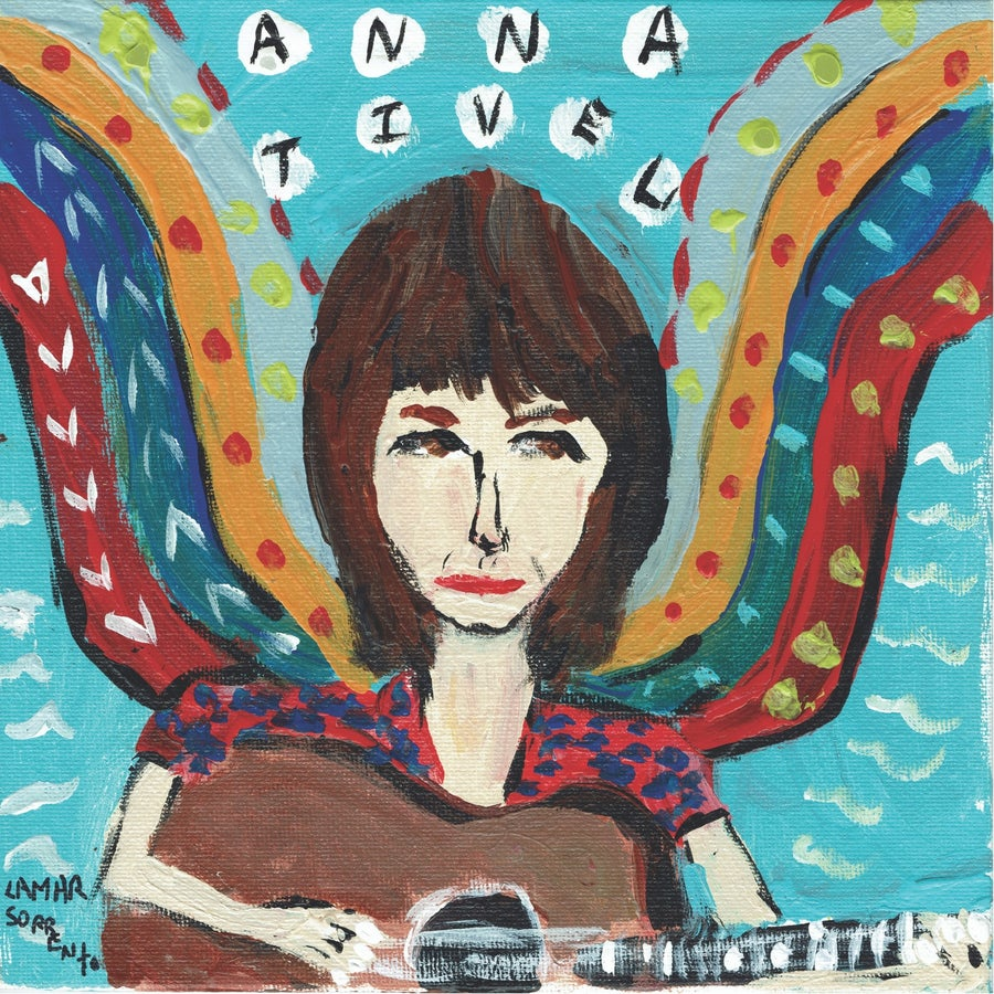 "Image of Anna Tivel - Howl b/w Rodeo Queen (Translucent Blue 7"" Single)"